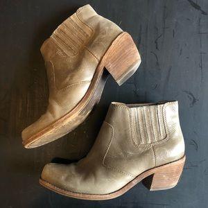 Latigo Panama leather booties from Anthropology